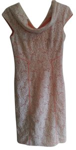 Antonio Melani short dress Peach with lace overlay Special Occasions on Tradesy