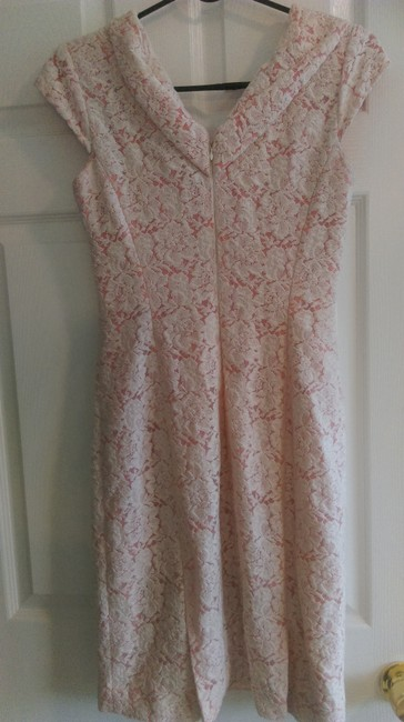Antonio Melani short dress Peach with lace overlay Special Occasions on Tradesy Image 1