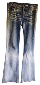 Hippie jeans Hippie Buttons Machine Washable. Flare Leg Jeans