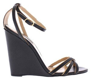 Dolce&Gabbana Dolce & Gabbana Leather Black Sandals