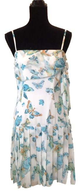 Preload https://img-static.tradesy.com/item/5088253/abs-by-allen-schwartz-white-blue-abs-spring-butterfly-chiffon-above-knee-short-casual-dress-size-6-s-0-0-650-650.jpg