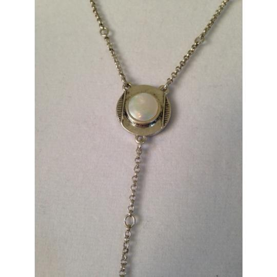 Lucky Brand Silver-Tone Pearl Drop Necklace Image 1