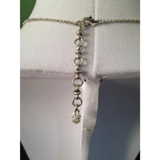 Lucky Brand Silver-Tone Pearl Drop Necklace