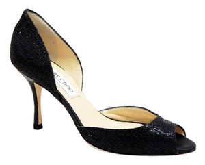 Jimmy Choo Logan Black Pumps