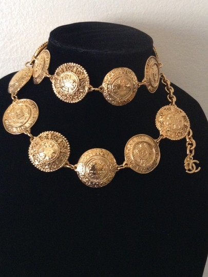 Chanel CHANEL PARIS 31 RUE CAMBON GOLD PLATED BELT / NECKLACE