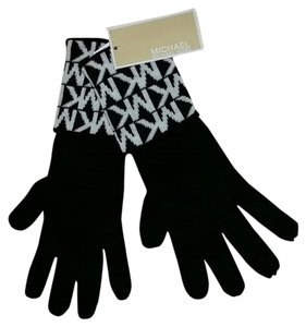 Michael Kors NWT Black and White MICHAEL KORS GLOVES