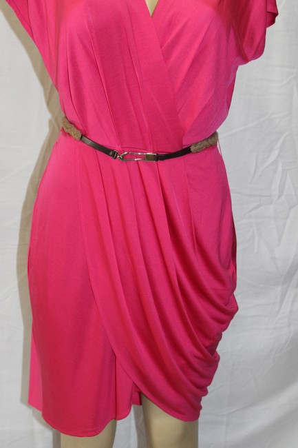 Banana Republic short dress fuchsia pink on Tradesy