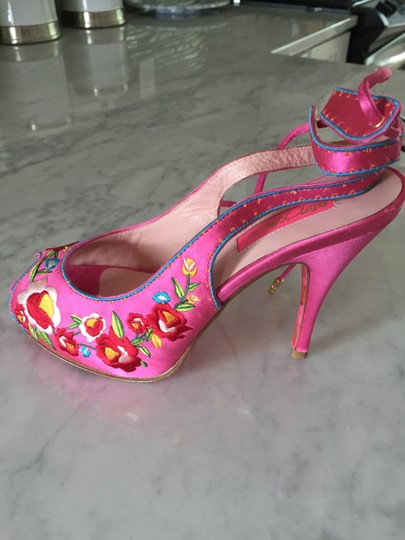 Betsey Johnson Pink Pumps