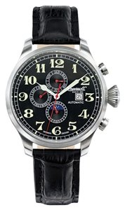 Ingersoll Ingersoll IN1616BK Men Automatic Black Dial and Black Strap