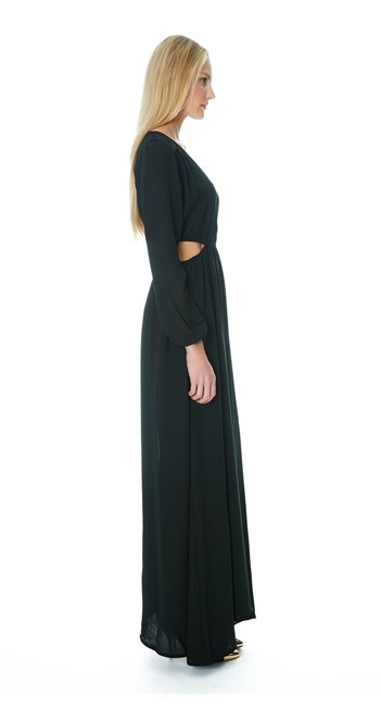 Black Maxi Dress by Donna Mizani