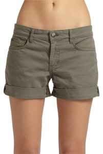 Gap Boyfriend New With Tags Cuffed Shorts Olive