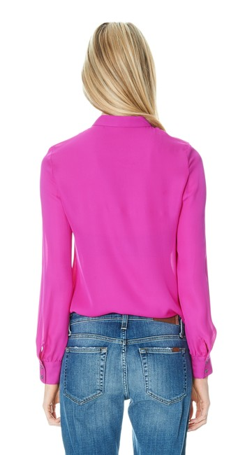 Jay Godfrey Top Fuschia