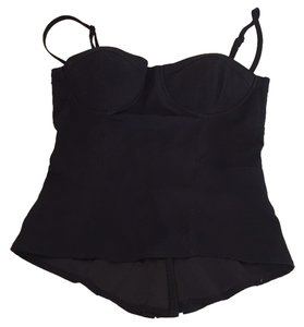 Winter Kate Corset Top Blac