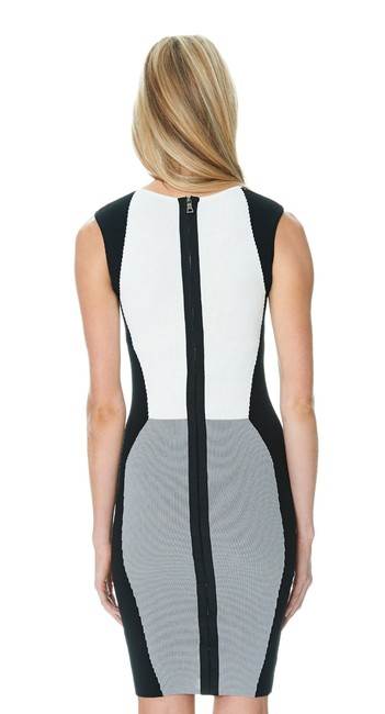 Jay Godfrey Black White Grey Gray Dress
