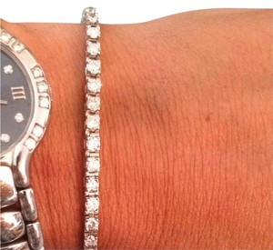 Other 14k White gold Diamond Tennis Bracelet.