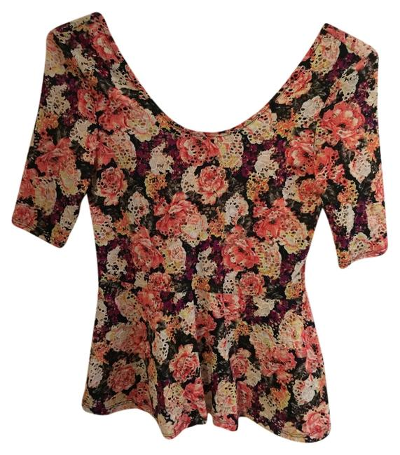 Charlotte Russe Top Floral