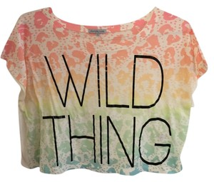 Charlotte Russe T Shirt Wild Thing