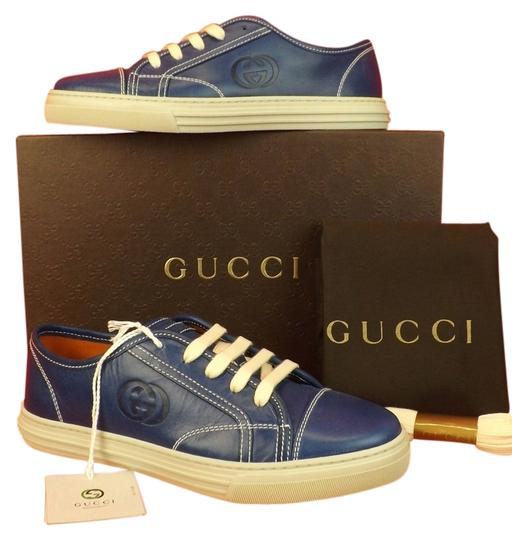 Preload https://item3.tradesy.com/images/gucci-blue-calf-leather-gg-interlocking-logo-stamp-fashion-sneakers-37-sneakers-size-us-7-regular-m--5091097-0-0.jpg?width=440&height=440