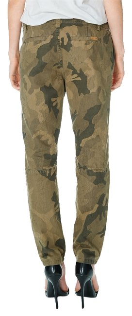 JOE'S Jeans Green Camo Straight Leg Jeans