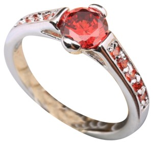 RING SIZE 9 - GARNET GEMSTONE RING-SIZE 9-GARNET GEMSTONES