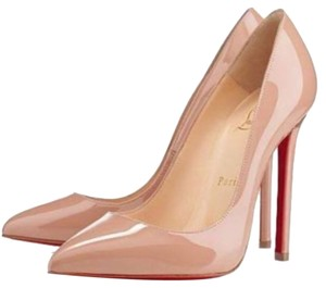 Christian Louboutin Rose Pumps