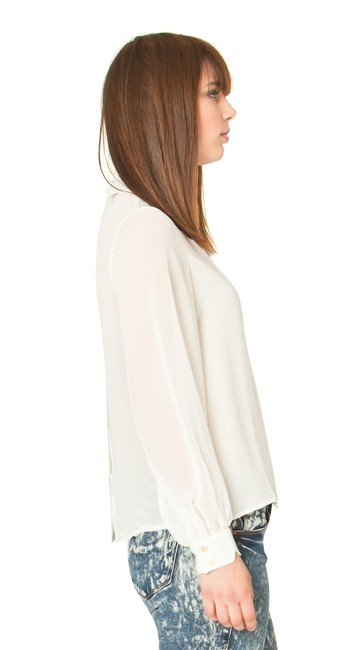 Sandra Weil White Top Off White