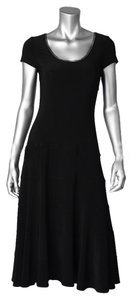 Joseph Ribkoff Cap Sleeve Zipper Free Dress