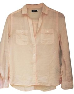 BDG Button Down Shirt Peach