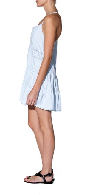 Current/Elliott short dress Florence Denim on Tradesy