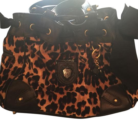 Juicy Couture Satchel in Leopard