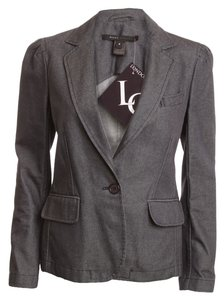 Marc Jacobs Gray Denim Blazer
