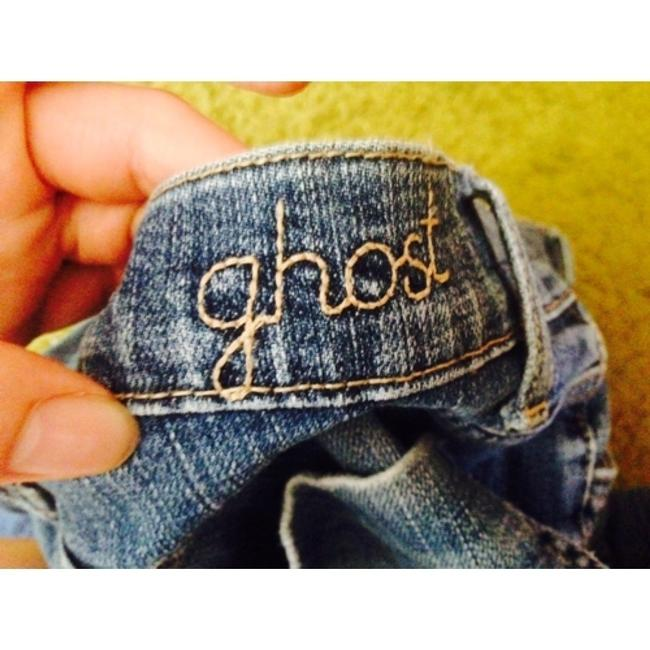 Ghost Floral Turkey Rise Boot Cut Jeans