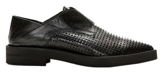 Preload https://item4.tradesy.com/images/helmut-lang-black-oxford-slip-on-leather-perforated-pointy-acne-loafer-flats-size-us-75-regular-m-b-5093488-0-6.jpg?width=440&height=440