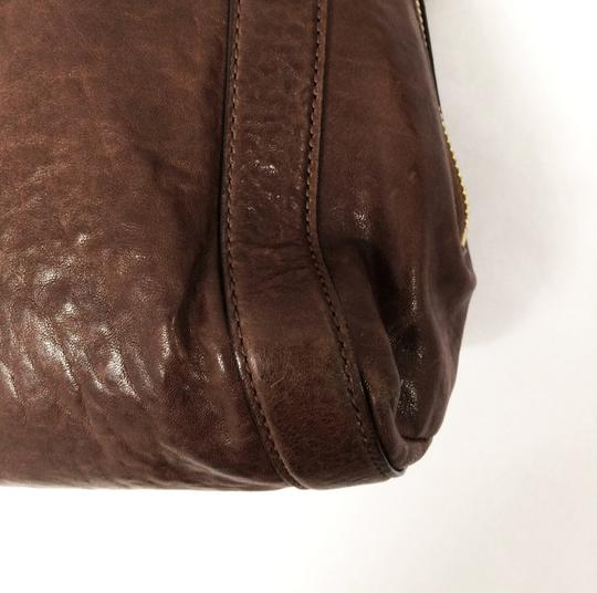 MICHAEL Michael Kors Large Stanthorpe Mocha Leather Tote in Brown Image 10