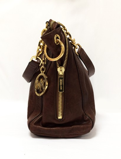 MICHAEL Michael Kors Large Stanthorpe Mocha Leather Tote in Brown Image 2