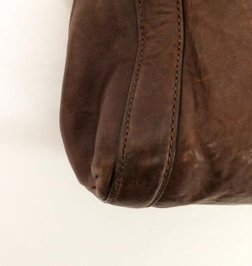 MICHAEL Michael Kors Large Stanthorpe Mocha Leather Tote in Brown Image 9