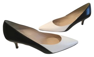 L.K. Bennett All Leather E41 Black and white Pumps