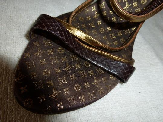 Louis Vuitton BROWN, BLACK & BRONZE Formal