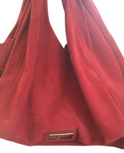 Valentino Suede Hobo Bag