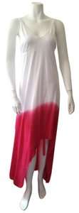 Red, White Maxi Dress by Kasper York Maxi