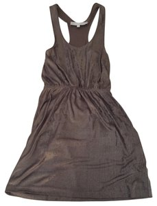 Alexander Wang short dress Metallic on Tradesy