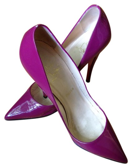 Christian Louboutin Purple Pumps