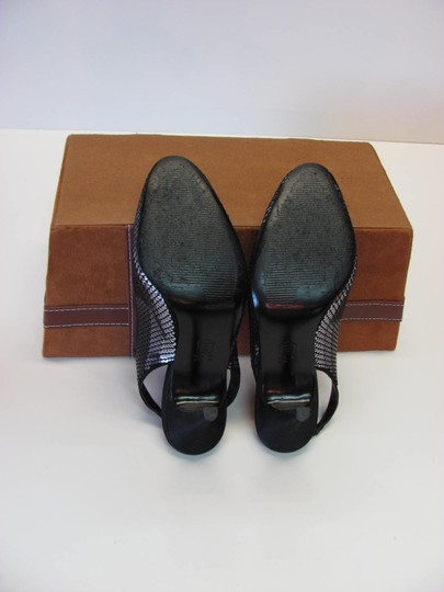 Touch of Nina Very Good Condition Sequins Size 7.00 black, gray Formal