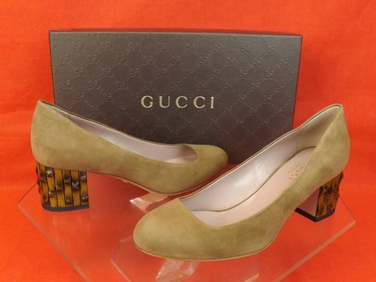 Gucci Beige Pumps