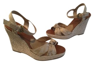 MICHAEL Michael Kors Tan Wedges