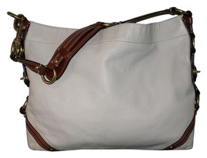Coach Carly Leather Slim Everyday Two-tone Gold Hardware Hobo Bag
