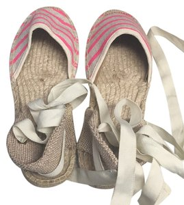 Soludos Ivory pink Flats
