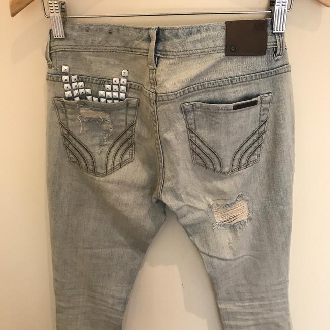 A|X Armani Exchange Skinny Jeans-Distressed