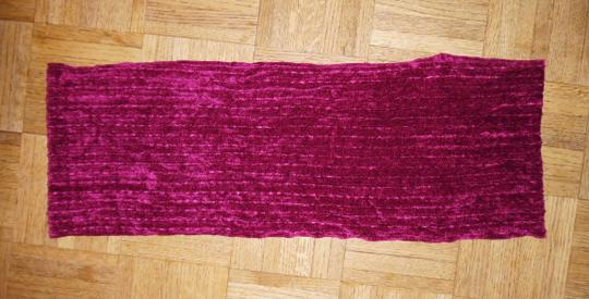 Other Mauve Reddish-Purple Soft Rayon Infinity Scarf Image 1