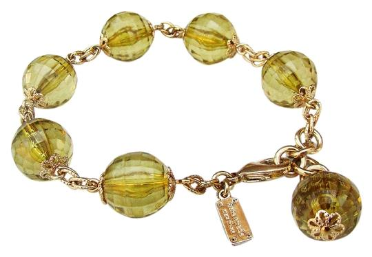 Kate Spade NEW Kate Spade On The Avenue Faceted Glass Bead Bracelet 12k